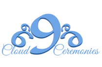 Cloud 9 Ceremonies with Glenda Procter specialising in hand fasting and destinations weddings