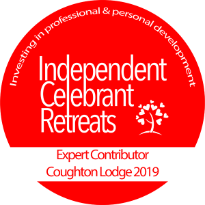 Logo of Independent Celebrant Retreats - indicating Glenda Procter was an Expert Contributor at the 2019 Retreat